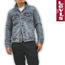 リーバイス Levi's デニムジャケット Gジャン ブリーチウォッシュ 72334-0139 RED TAB メン