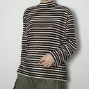 レディース 長袖婦人ボーダーハイネック 日本製 (カットソー 長袖 トップス 軽い あったか 5L 19号 ギフト プレゼント 母の日) align=