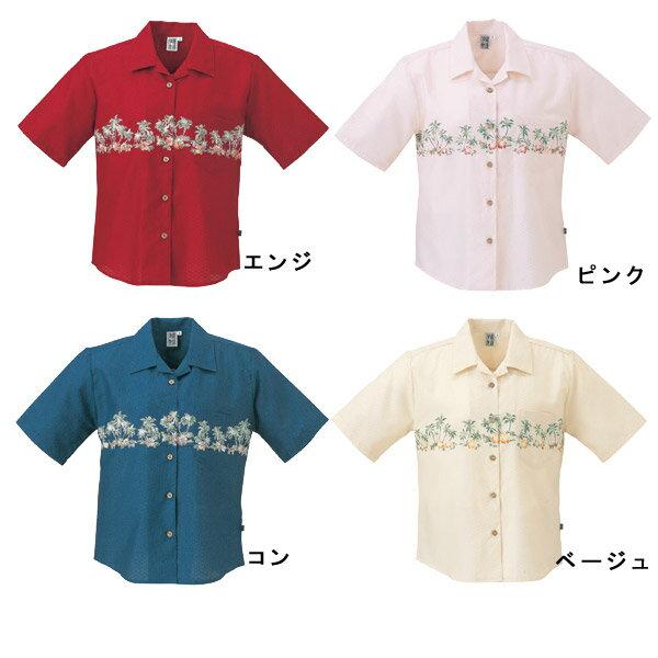 かりゆしウェア 沖縄産アロハシャツ レディース...の紹介画像2