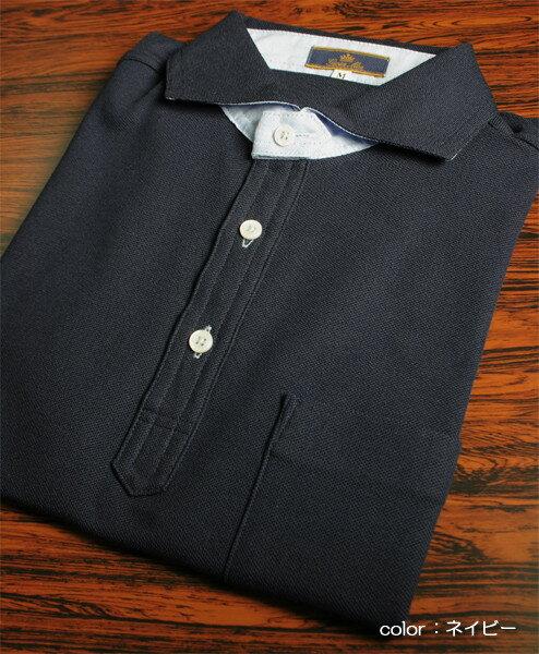 メンズ 鹿の子半袖シャツ 日本製 (父の日 敬...の紹介画像3