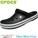 ショッピングcrocs 【サンダル 31cm Relaxed fit メンズ ビッグサイズ】 CROCS クロックス CROCBAND (クロックバンド) 11016-001
