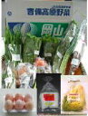 【吉備高原農家の野菜】卵・漬物セット
