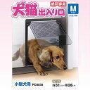 網戸専用 犬猫出入り口 小型犬用 PD3035 ペットドア