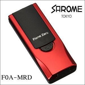 SAROME サロメ USB充電式ライター F0A-MRD メタリックレッド