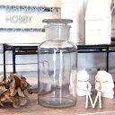 あす楽 メディシンボトル 500ml FR-1283 松野ホビー ガラス瓶 薬瓶 レトロ調 アンティーク ガラス容器 風薬瓶 透明瓶 小物入れ 花瓶 ボトルフラワー インテリア