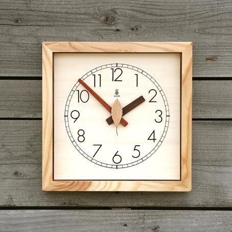 「キコリの時計」 木の電波時計 【森の電葉時計】 05P01Oct16
