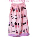 女児 ファッションコスメ スナップ付き 巻きタオル ラップタオル まきまきタオル 綿100% 約80cm×約120cm カラー:ピンク  ..