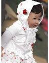 授乳服・妊婦服・赤ちゃん 帽子・ベビー・ボンネットのメッカKIDS-PARAお花ボンネット
