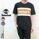 ティンバーランド Timberland Tシャツ カットソー カラーブロック ティー C&S COLORBLOCK T TB0A22S1 ブラック/ウィートブーツ(P56) グレープリーフ/ダークサファイア(Z29) [WA]【GOOH】