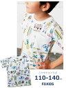 半袖Tシャツ 男の子 女の子 夏服 110cm 120cm 130cm 140cm R207229 子供服 キッズ エフオーキッズ オフホワイト 春夏 セール 20%OFF SALE  fokids デザイナー イラスト