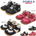[MIKI HOUSE  Miki house] double B  nylon twill first baby shoes [11.5.12.12.5cm]