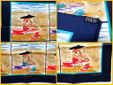 【★未使用★】《送料込》 HERMES エルメス 『カレ70』 《Bain de Mer(海水浴)》 《ブルー系/MARINE/SABLE/ROUG》スカーフ/海/女の子/ビーチ/カレ/プチカレ/ミニスカー/シルク100%/70×70cm/ヴィンテージツイル/2016SS 21404K1106 @【中古】