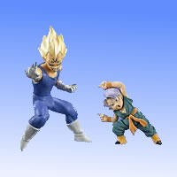 HGPLUS EX action pose Dragon Ball Z [2] destruction Prince baby Vegeta & trunks