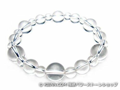 パワーストーンブレスレット クリスタル(水晶)AAAAA最高品質(4月誕生日石)10ミリ&8ミリ&6ミリ 開運 [サイズ選び可能][日本製][送料無料] (10243)