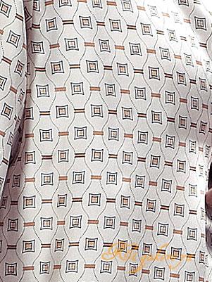 シルク100%パジャマ メンズ 長袖 オフホワ...の紹介画像3