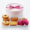 【母の日ギフト】〜Thanks Mother's Gift〜ローズと焼菓子のセット【パティスリー キハチ】