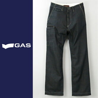 ■GAS men ■ flapped pocket tapered jeans denim underwear gas-m-p-38-600