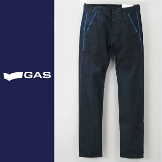 ■GAS men ■ blue line slim tapered jeans denim underwear gas-m-p-38-602
