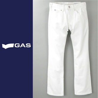 ■GAS men ■ bootcut white jeans denim underwear gas-m-p-38-612