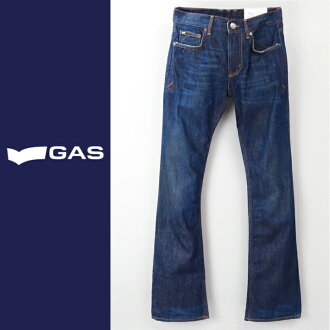 ■ GAS mens ■ distressed processed Orange stetchbootkatjeans pants gas-m-p-38-615