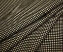 なめらかツイル 保温性のあるクロスウォーム タテヨコ2WAY ストレッチ・ミニチェック柄 ジャケット スカート パンツに 巾135cm 厚み約0..