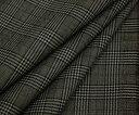 ちょっと小さめ定番グレンチェック・平織り♪日本製上質ウール/ポリエステル混先染め ダブル巾150cm 防縮加工 布 生地 布地 服地 通販 チェック サマーウール ウール生地 10cm単位 チェック柄 スカート