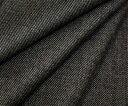とってもきれいな光沢♪日本製高級ウール100%・シャークスキン(ツイル)先染め杢グレー♪薄手で適度なハリがあるけどしっとりソフト♪W巾150cm 布 生地 布地...