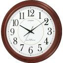リズム時計[シチズン]取扱い大幅UP!【CITIZEN】◆パルウェーブMA02◆電波掛時計8MYA02-006