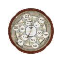 リズム時計工業 電波からくり時計 仕掛け時計 壁掛け時計スモ...