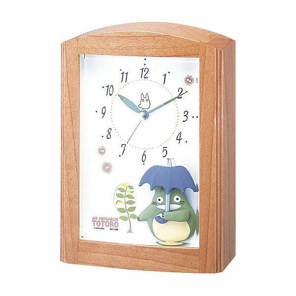リズム時計工業 ◆トトロのオルゴール◆となりのトトロ置時計 子供 トトロR752N 4RM…...:kikumasa-carparts:10005799