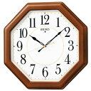 セイコー クロック 電波時計 壁掛け時計 KX389B 木枠...