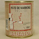 サバトン マロンペースト 1kg / 栗 モンブラン 製菓材料 製パン材料