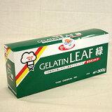 板ゼラチン リーフ 緑箱 300g / 凝固剤 ゼリー ムース 冷菓 製菓材料