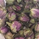 ハーブティーやケーキの飾り付けに!ダマスクローズの乾燥つぼみ 20g / バラ ダマスクローズ 薔薇 製菓材料 トッピング