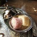 """銅製ロクム入れ/シルバートルコのお菓子""""ロクム""""を入れる小さな食器・お土産にも!トルコ/手打ち銅製品バクル"""