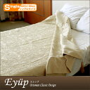 Bedcover (bedspread) シングルサイズエユップ ivory / Ottoman Empire design [setsuden_bedding]