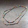 クリスマスビーズ極小一連/ガーナ African trade glass beads, GAHANA■ビーズのみ同梱配送は3000円以上で送料無料(レターパック利用)