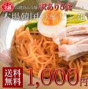 ビビン麺5食セット【メール便】【送料無料】【1000円ポッキリ】当店1番人気の冷麺から