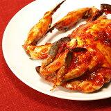 キムチランド謹製渡り蟹のケジャン(丸一匹)約400g 05P01Mar15