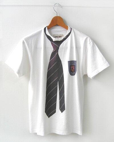 『ネクタイ』 -オリジナルプリントデザイン半袖Tシャツ[LIKELIKE]