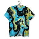 タイダイ染め 染色 Tシャツ : TS-397