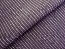 竹繊維使用 色無地着物 「竹林の妖精 紫色」(八掛付き)