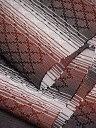 ショッピング沖縄 名嘉幸代氏作 首里織半巾帯 絹.綿 花織 白・茶・黒【半幅帯】【経済産業大臣指定伝統的工芸品】【沖縄県指定伝統工芸品】【送料無料】【smtb-k】【ky】