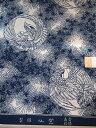 竺仙鑑製浴衣地 長板本染中形 小紋中形 白地 松に鷹丸【ちくせん】【ゆかた】【江戸中形】【長板中形】【夏祭り】【プレミアム】【送料無料】【smtb-k】【ky】