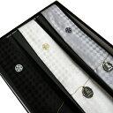 【送料無料】家紋入りネクタイ3本セット 最高級西陣織正絹ネク...