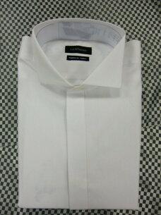 ブライダル ウイングカラーシャツ ワイシャツ ウィングシャツ モーニング タキシード フォーマル