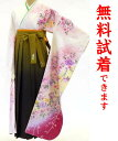 袴−408・Lサイズ[下見・試着が出来ます][往復送料無料][レンタル れんたる][フルセット][貸衣装 貸衣裳][着物レンタル][卒業式][成人式][通し矢・...