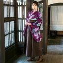 卒業式 袴 フルセットレンタル 紫 パープル