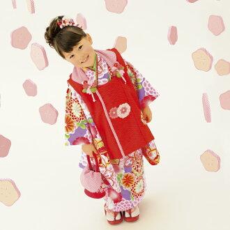 歌舞伎町 3 歲與紫式部羅馬品牌女孩被布充分設置半衣領,襪襪子配醬 DVD 設置 753 是我們倆在一起