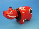 福島復興!会津の『赤べこ』日本のお守り『赤べこ』郷土玩具です